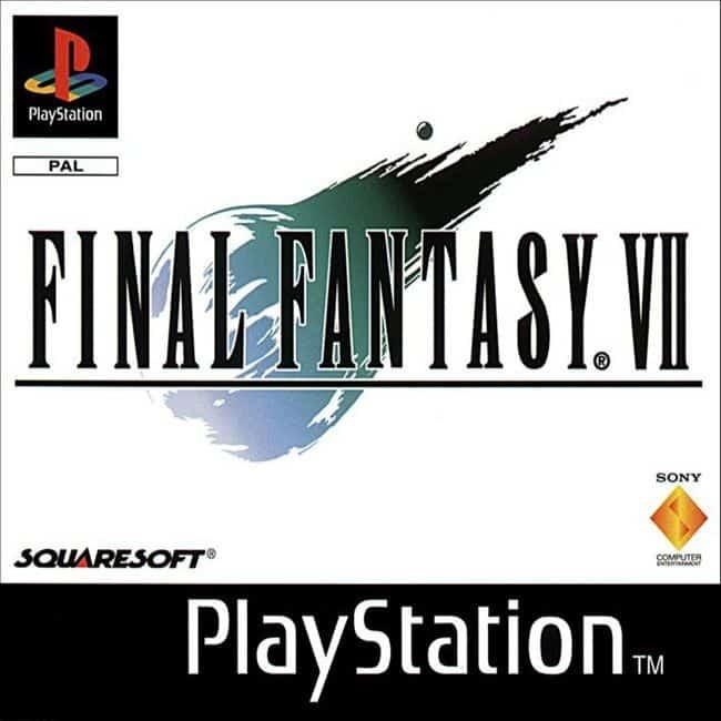 juego final fantasy VII playstation classic
