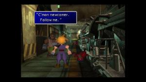 Llegada a la Estación de trenes Final fantasy VII PlayStation Classic