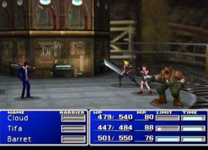Batalla Final fantasy PlayStation Classic
