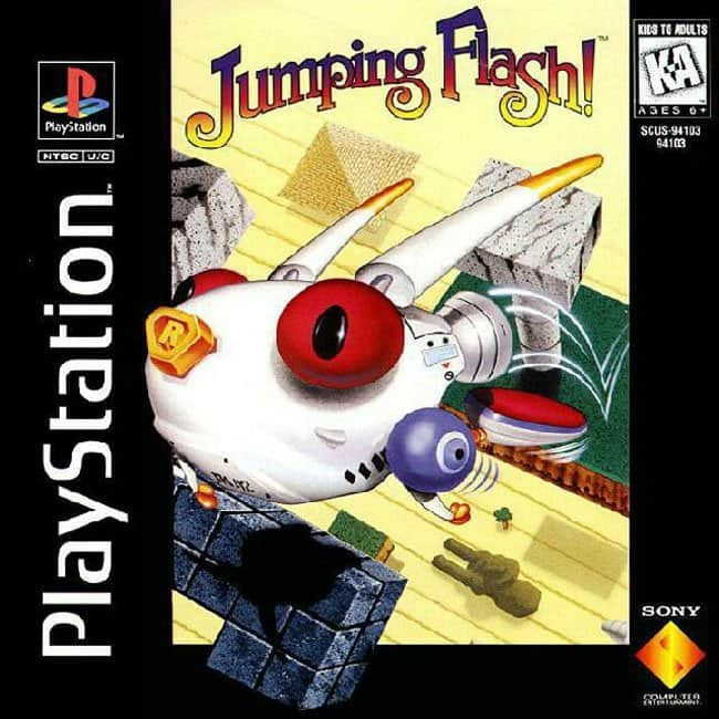jumping flash playstation classic