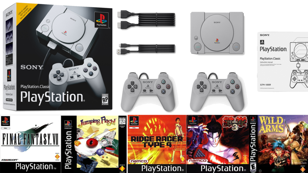 kit playstation Classic completo