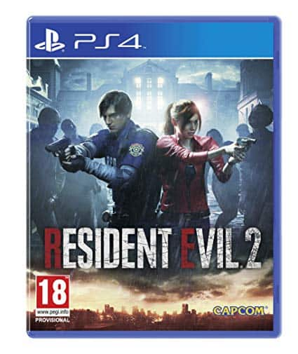 Portada Resident evil 2 Ps4