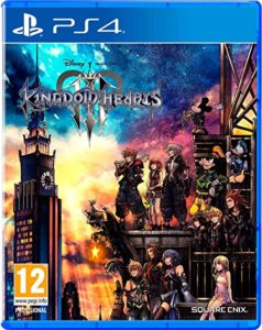 Kingdom Hearts 3 portada ps4