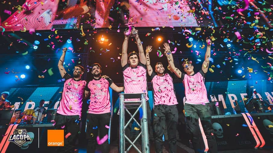CS go movistar riders campeones games week madrid 2018