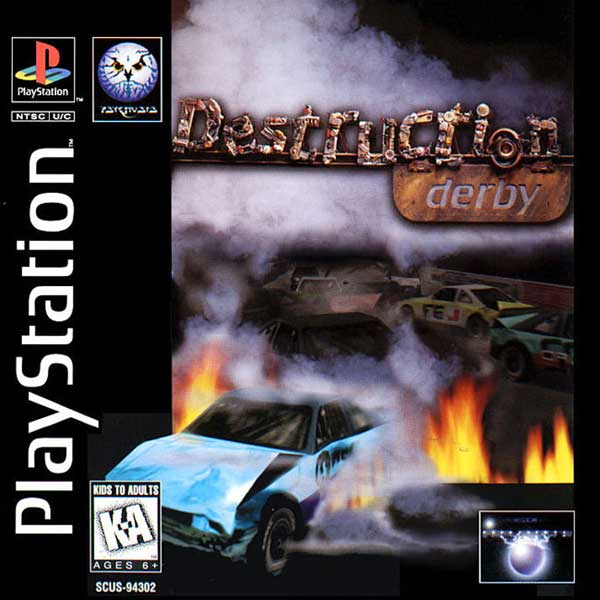 Destruction Derby playstation classic