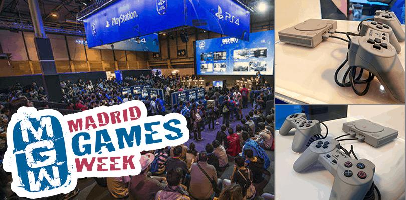 Playstastion classic en la madrid games week