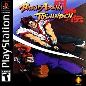 battle arrena toshinden playstation classic