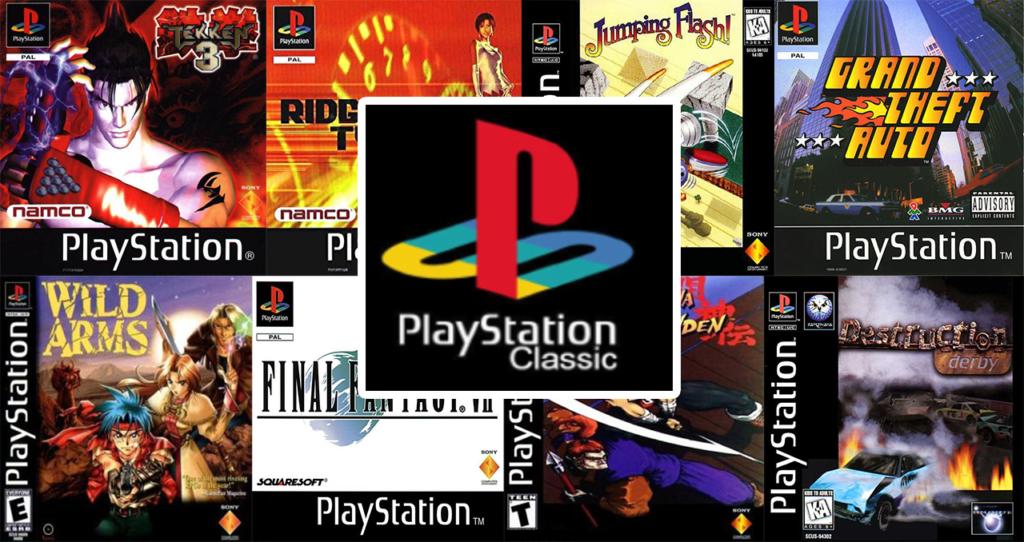 los 20 juegos de playstation classic