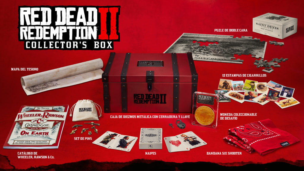 red dead redemption Collertor box