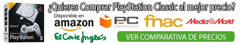 Playstation classic comprar comparativa
