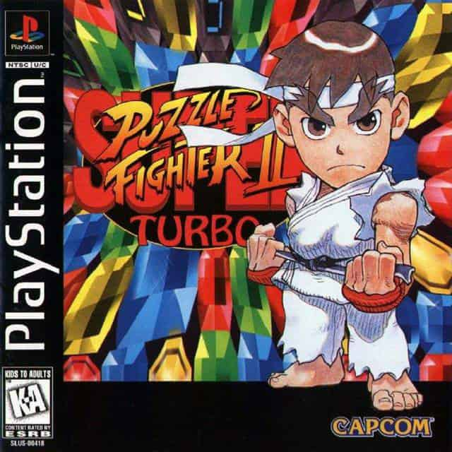 Super Puzzle Fighter II Turbo playstaiton classic