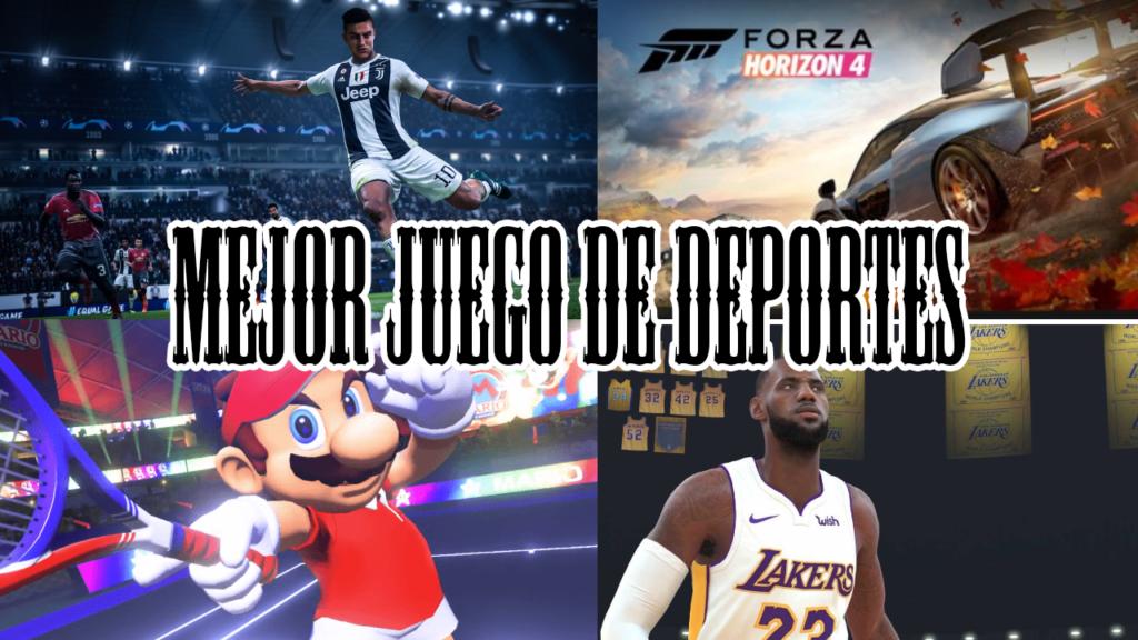 juego de deportes nominados 2018