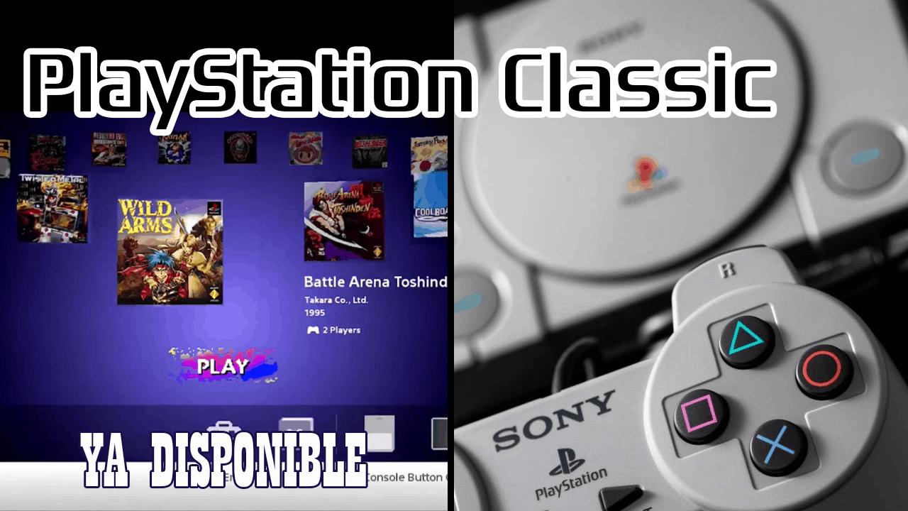 ya disponible playstation classic