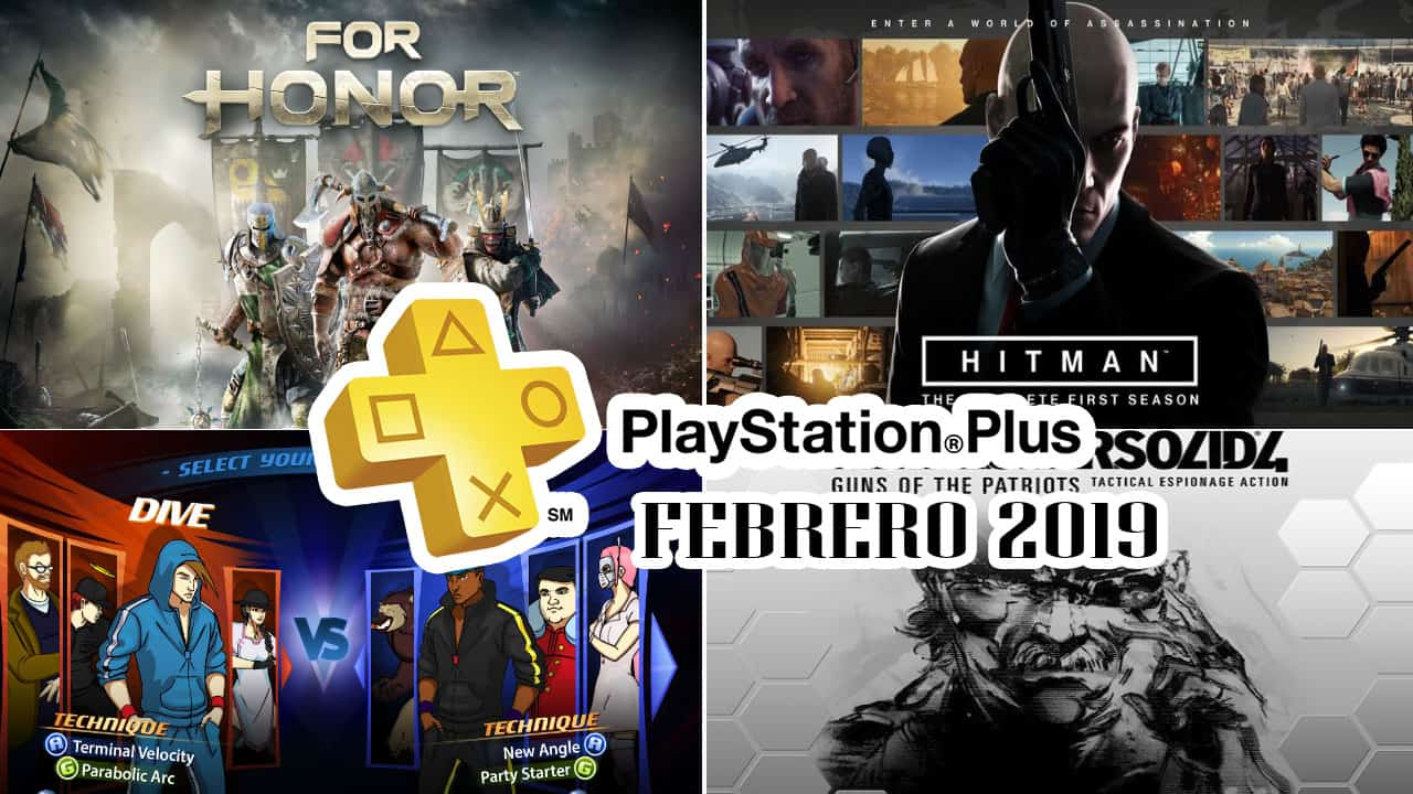 PlayStation Plus Febrero 2019