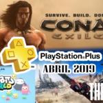 Playstation Plus Abril 2019