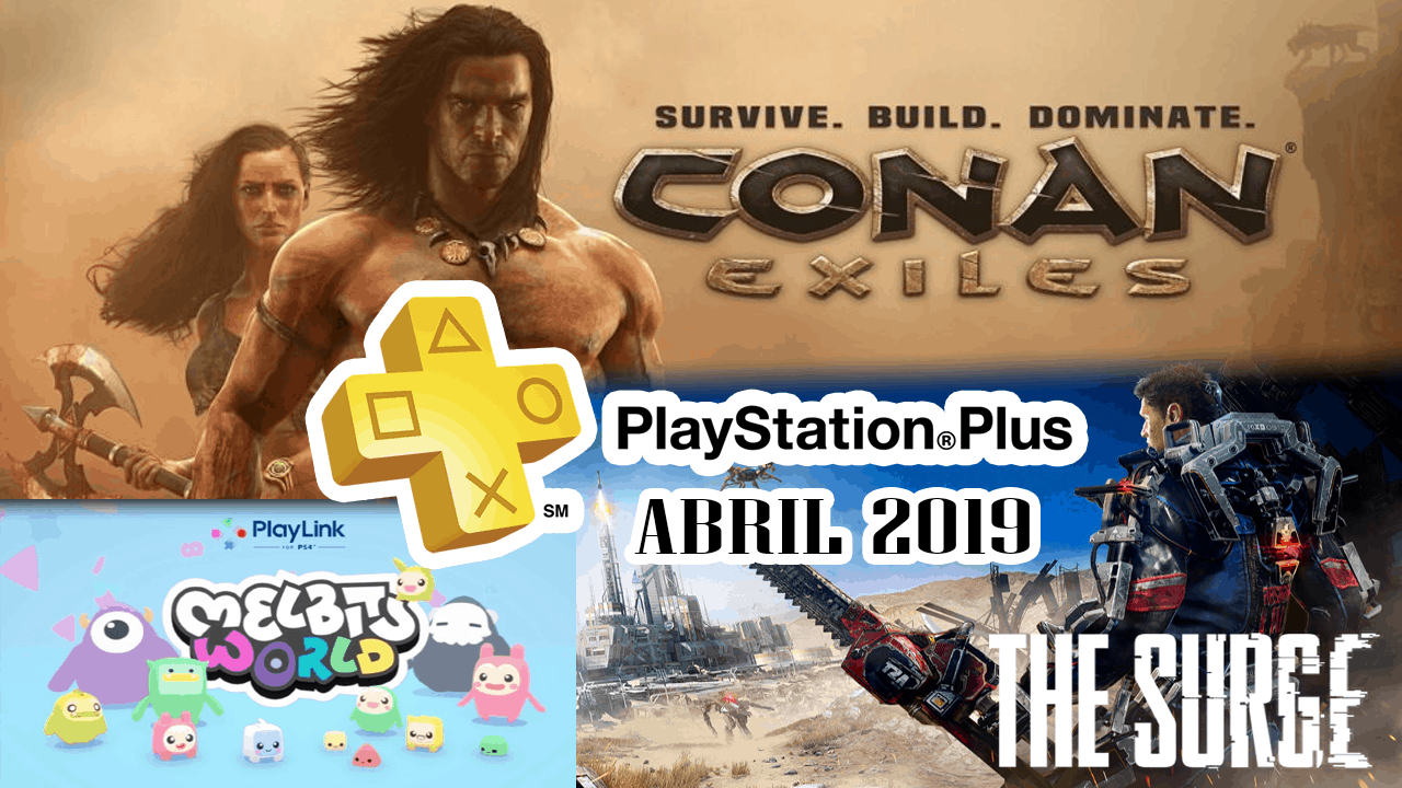 Playstation Plus Abril 2019