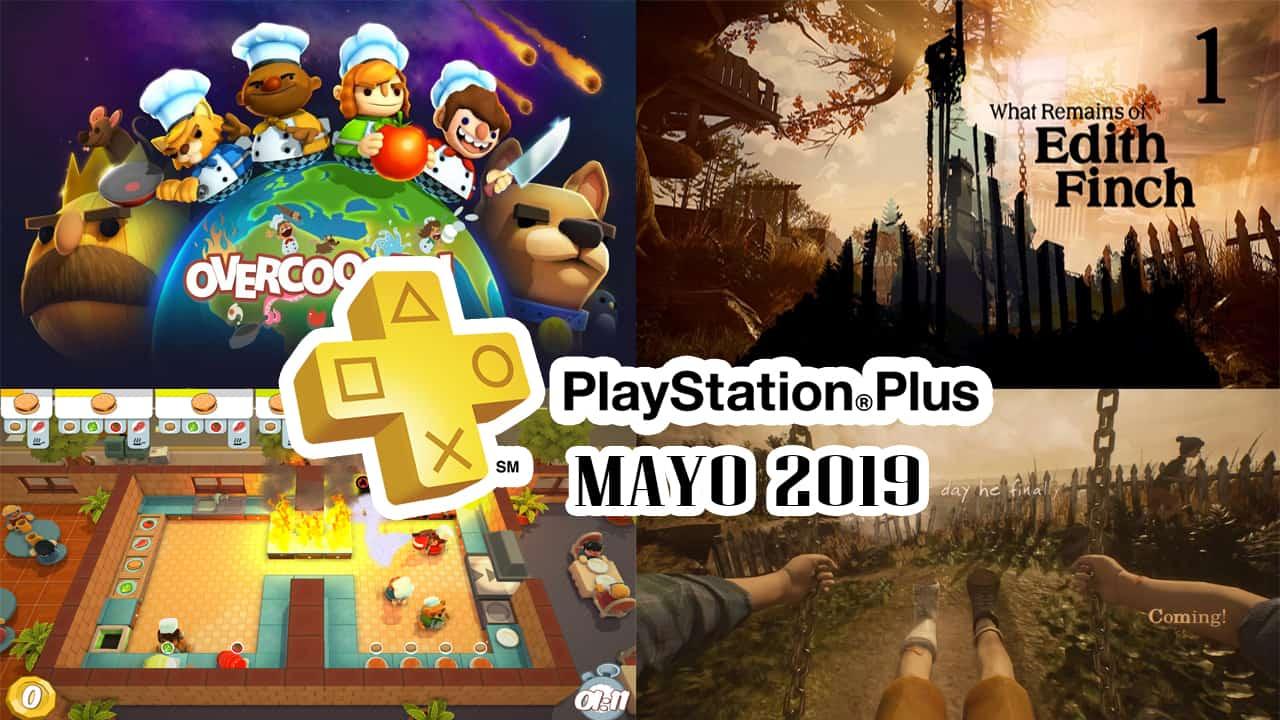 PlayStation Plus Mayo 2019