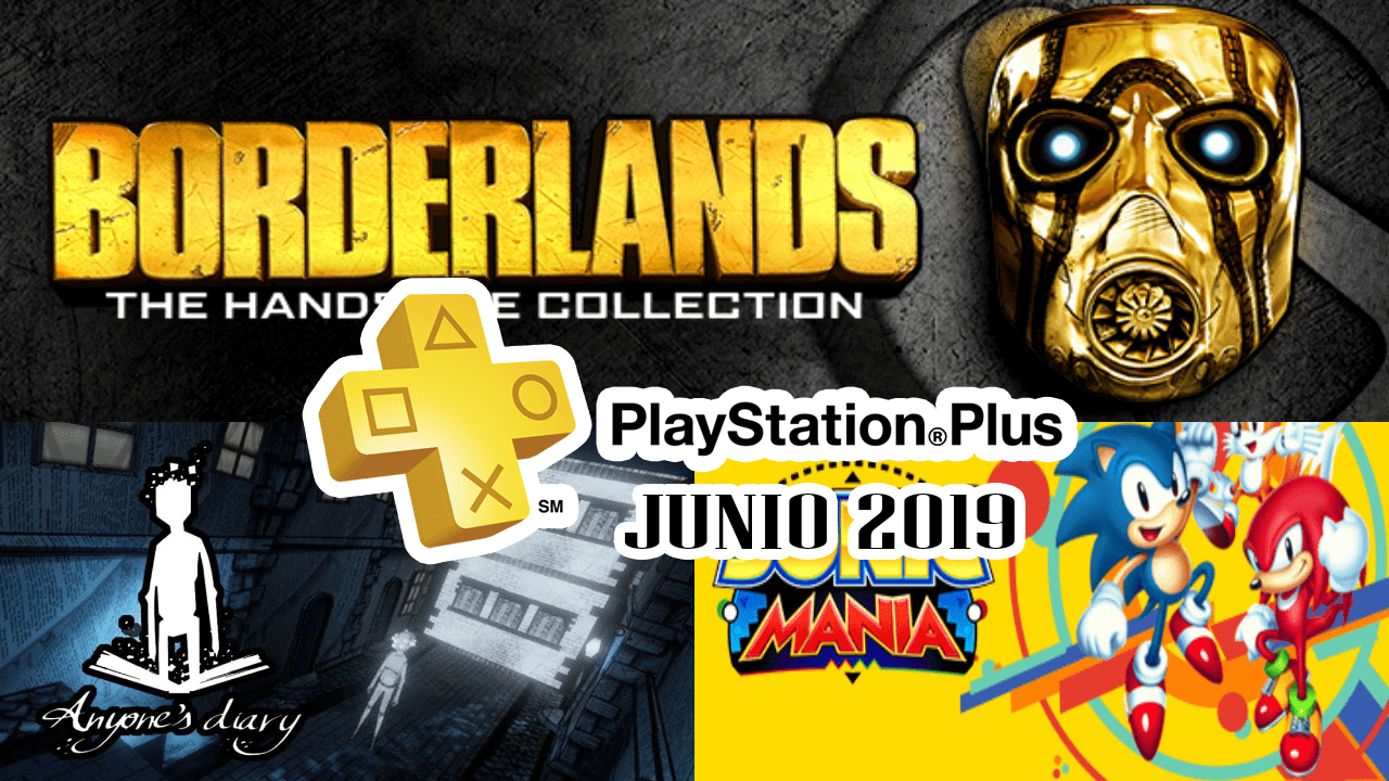 Playstation Plus Junio 2019