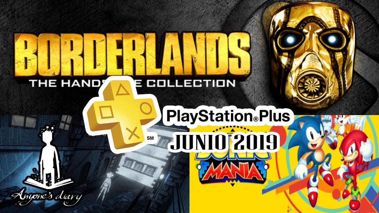 PlayStation Plus Junio 2019