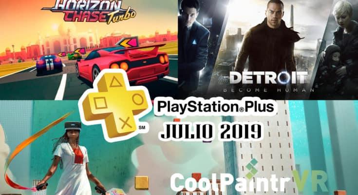 PS Plus Julio 2019 Detroit