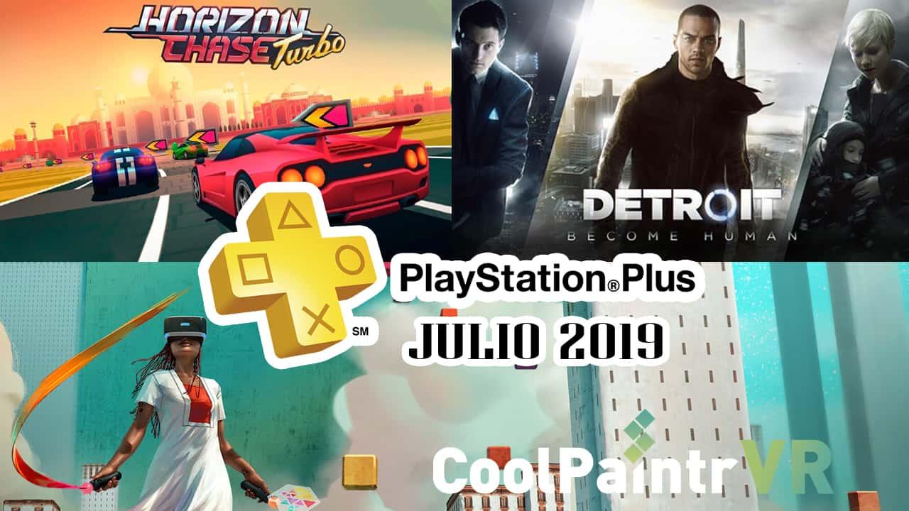 PlayStation Plus Julio 2019