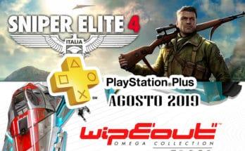 PS Plus Agosto 2019
