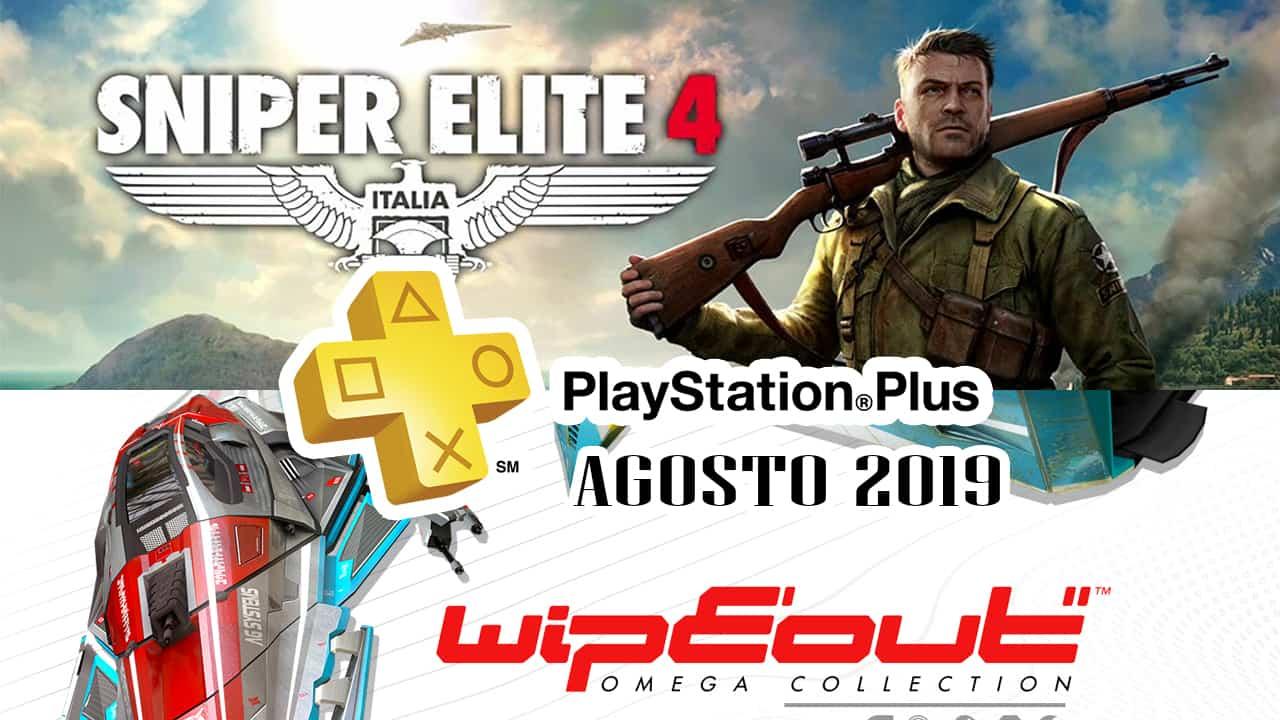 PlayStation Plus Agosto 2019