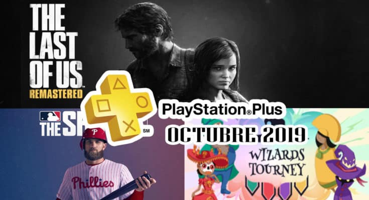 PS Plus Octubre 2019