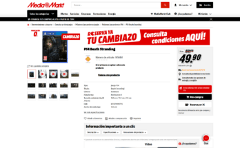 PS4 Death Stranding Cambiazo media markt