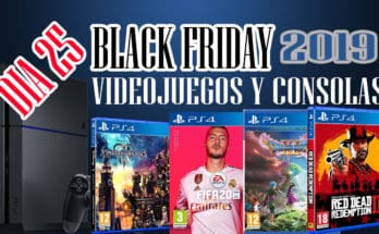 BLACK FRIDAY 2019 JUEGOS Y CONSOLAS DIA 25