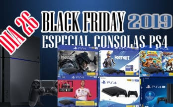 EMANA BLACK FRIDAY - CONSOLAS PS4 Y PS4 PRO Y PLAYSTATION HITS POR 15,99€ DIA 26