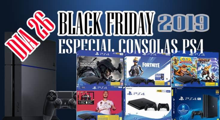 EMANA BLACK FRIDAY - CONSOLAS PS4 Y PS4 PRO Y PLAYSTATION HITS POR 15,99€ DIA 26
