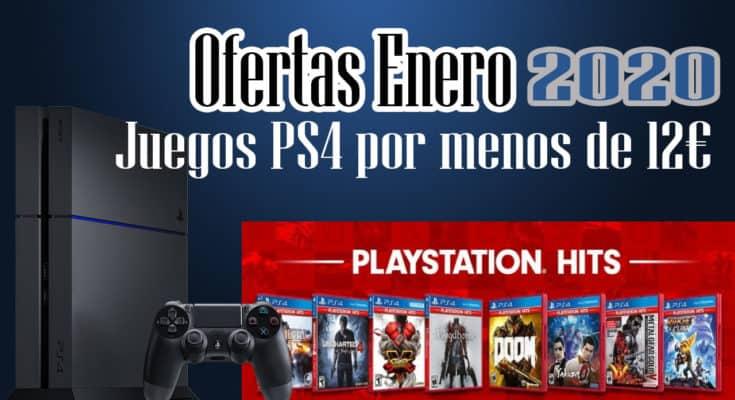 ofertas enero 2020 juegos baratos ps4