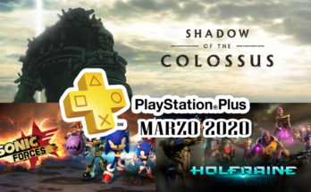 PS Plus Marzo 2020