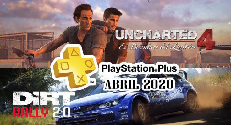 Juegos PS Plus Abril 2020