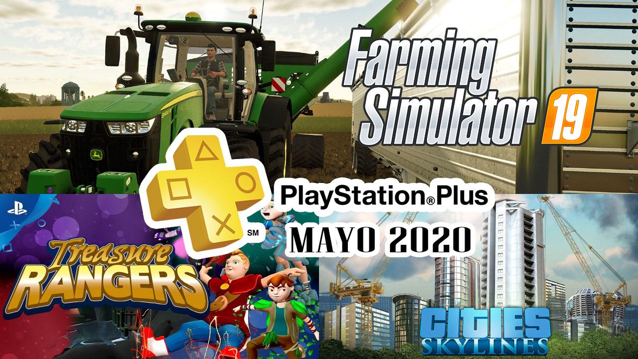 PlayStation Plus Mayo 2020