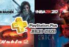 Juegos PS Plus Julio 2020