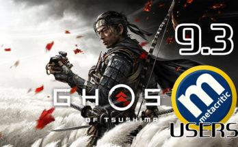 ghost of tsushima - mejor juego según los usuarios