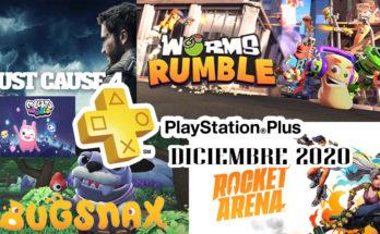 Juegos Ps Plus Diciembre 2020