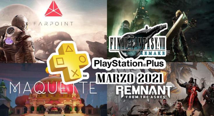 Juegos Ps Plus Marzo 2021