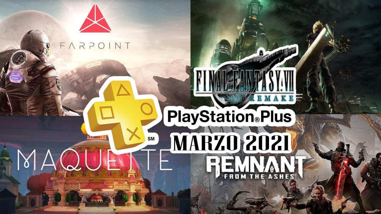 PlayStation Plus Marzo 2021