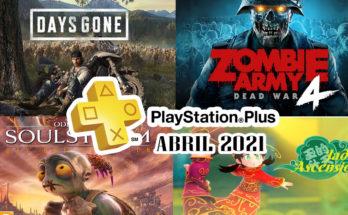 Juegos Ps Plus abril 2021