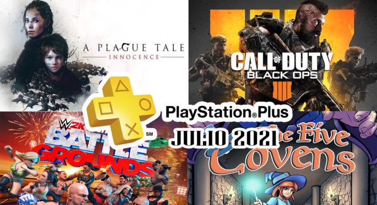 Juegos Ps Plus Julio 2021