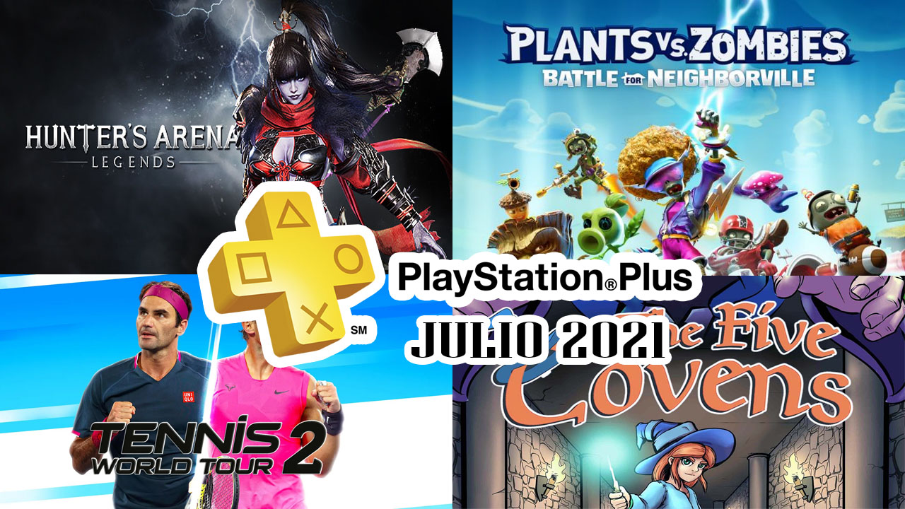PlayStation Plus Agosto 2021