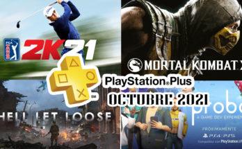 Juegos Ps Plus Octubre 2021